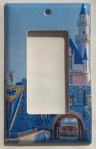 Sleeping beauty castle Light Switch Outlet Toggle wall Cover Plate Home Decor image 3