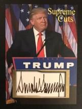 Lot Of (50) Donald Trump 2020 Supreme Cuts Sample Card - $34.60