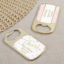 Personalized Gold Bottle Opener - Birthday For Her(24 Pcs)  - $75.99