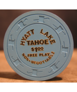 "Near Mint $1.00 Free Play Casino Chip From: ""Hyatt Hotel & Casino""- (sku... - $9.29"