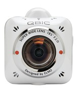 Elmo QBiC MS-1 Digital Camcorder - Full HD - White - 16:9 - 5 Megapixel ... - $86.13