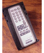 Sony Radio Cassette Audio Remote Control, no. RMT-CS400A, cleaned and tested - $9.85