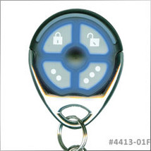 Omega 4413-01 4-Button Replacement Remote Control Transmitter for K-9 Alarms - $25.95