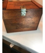 Vintage Wild Turkey Bourbon Whiskey Wooden Crate Box *  Beyond Duplicati... - $141.55