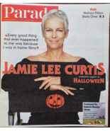 Parade Magazine: Jamie Lee Curtis screams again in Holloween Oct 24 2018 - $4.95