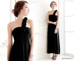 412f007  Sexy long gown with single shoulder, tube bust, Free size, fit to s/m/l - $39.90