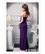 412f006  Sexy long gown with high split, tube bust, Free size, fit to s/m/l, vio - $39.90