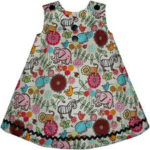 Infant Girls Jungle Dress - $28.00