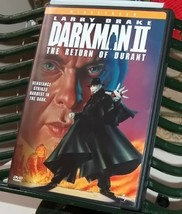 Dark Man II The Return of Durant DVD - $8.00