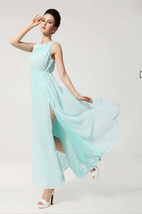 363f067 Sexy long cotton  dress,  hig side spits,Free size, fit to s/m/l... - $39.90
