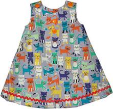 Infant Girls Kitty Cat Dress - $28.00