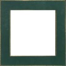 Matte Green wooden frame opening 5.5 x 5.5 Mill Hill  - $14.40