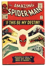 AMAZING SPIDER-MAN #31 1st Gwen Stacy SILVER-AGE FN - $334.17