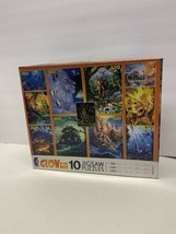 Ceaco Puzzle Glow in the Dark 10 Jigsaw Puzzle Box. Series 7. 1999. New ... - $39.59