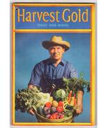 Vintage Texaco 1945 Farm Manual Harvest Gold Advertising - $5.95