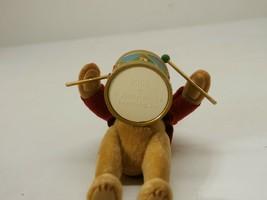 "Hallmark Keepsake 2006 ""North Pole Band Teddy"" Bear Drum Ornament QXG3026 - $7.91"
