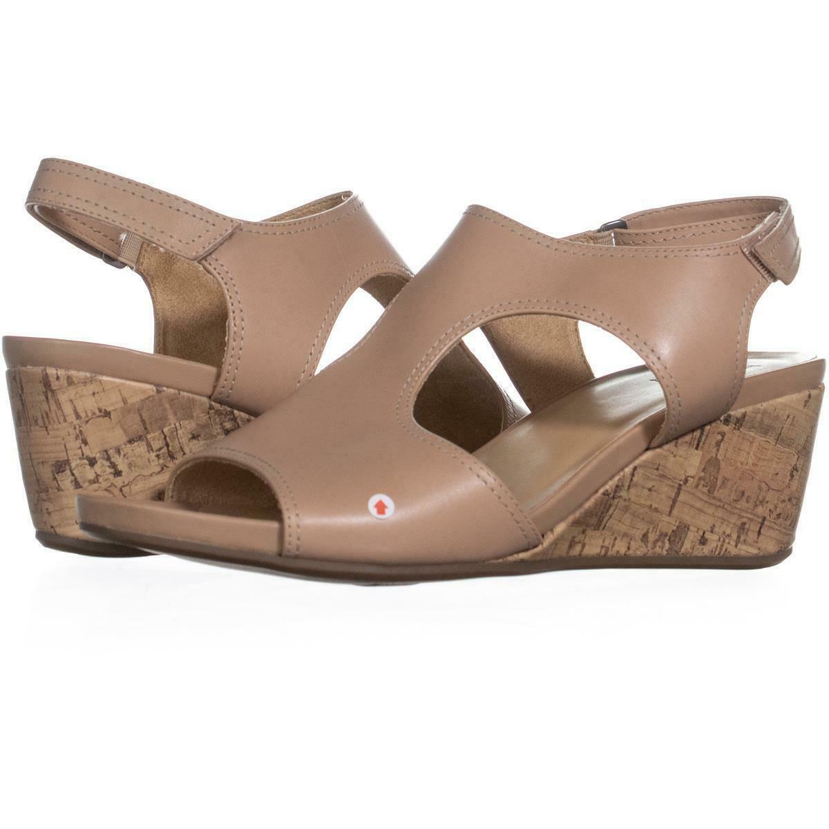 f7f0439dca naturalizer Cinda Wedge Sandals 390, Ginger, 11 W US - $27.83