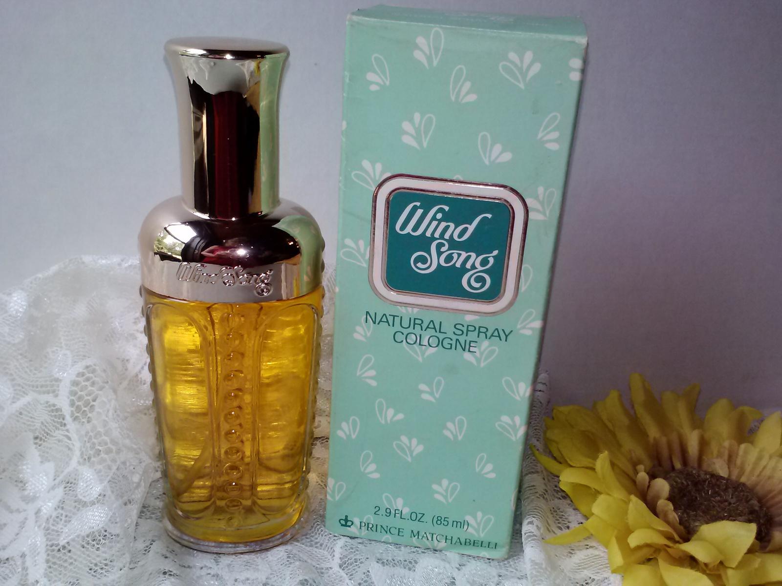 prince matchabelli wind song spray cologne vintage perfume. Black Bedroom Furniture Sets. Home Design Ideas