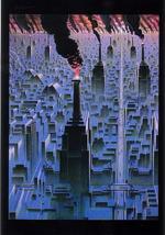 Heavy Metal Beb Deum Promo Postcard Science Fiction Festival of Roanne F... - $2.95