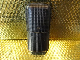 Cohiba Black & Gold Leather Cigar Case - $85.00