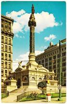 Vintage Postcard Soldiers Sailors Monument Cleveland OH Ohio - $2.95