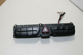 03 2004 Mercedes W209 CLK500 CLK320 W203 C320 Hazard Door Unlock Dash Switch Oem - $44.50