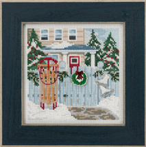 Holiday Memories 2013 Winter Series beaded button kit Mill Hill - $11.70