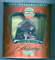 Hot Wheels 1999 Holiday Present Christmas Millennium Ed 2/3 Scorchin Scooter