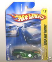 Hot Wheels 2008 FE 012 Prototype H-24 Green 5sp/gray No Track Stars logo Base