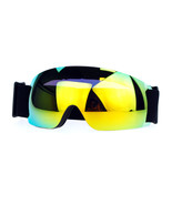 Snowboard Ski Rimless Sports Goggle Color Mirror Antifog Double Lens - $23.71+