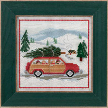 Family Tree 2013 Winter Series beaded button kit Mill Hill - $11.70