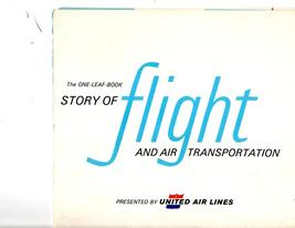 Story of Flight And Air Transportation  Presented by United Air Lines - $2.95