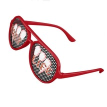 Vamplife Fang Party Shades Sunglasses Aviator Stye - Red - $13.95