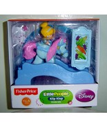 Fisher Price Little People Disney Princess Klip Klop Cinderella Horse - $6.00
