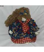 Vintage Style 19 inch  Rag Doll with Lots of Hair - $17.99