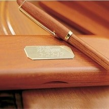 Engraved Rosewood Pen and Case Office Engraved Gifts - $22.02