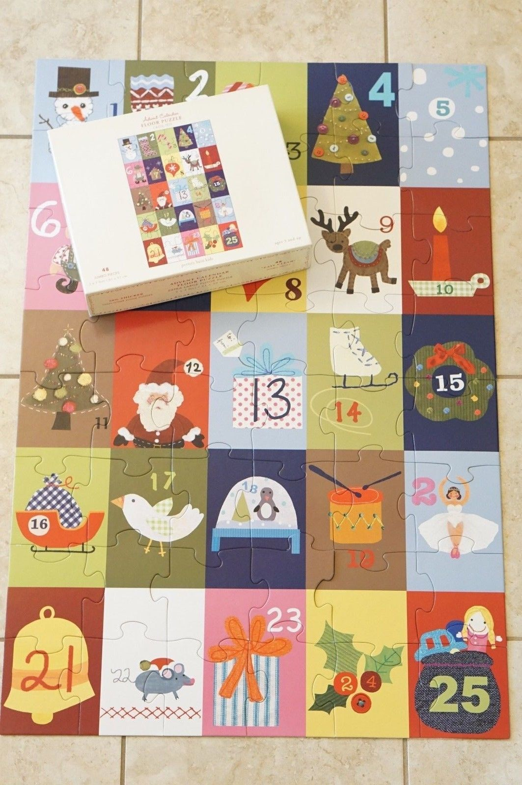 jumbo similar barns items puzzle like pottery kids barn and calendar floor x advent pieces christmas