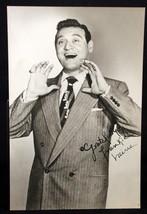 """Frankie Laine 1950's Autographed 5 X 7"""" Sharp & Clear Photograph - $13.99"""