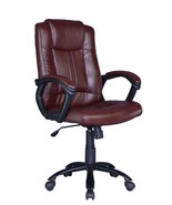 Brown Ergonomic Office Executive Chair Computer Desk Task Hydraulic New ... - $69.88