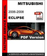 MITSUBISHI ECLIPSE 2006 2007 2008 FACTORY OEM SERVICE REPAIR WORKSHOP FS... - $14.95