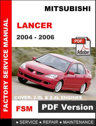 mitsubishi lancer 2004 2005 2006 factory oem service mitsubishi lancer ex user manual mitsubishi lancer 2013 user manual