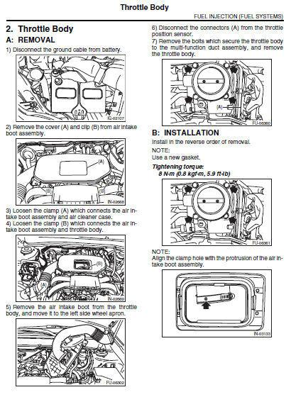 Subaru Outback 2010 2011 2012 2013 2014 Factory Service