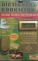 Columbia Bookmark & 50,000 Word Electronic Dictionary  - $19.99