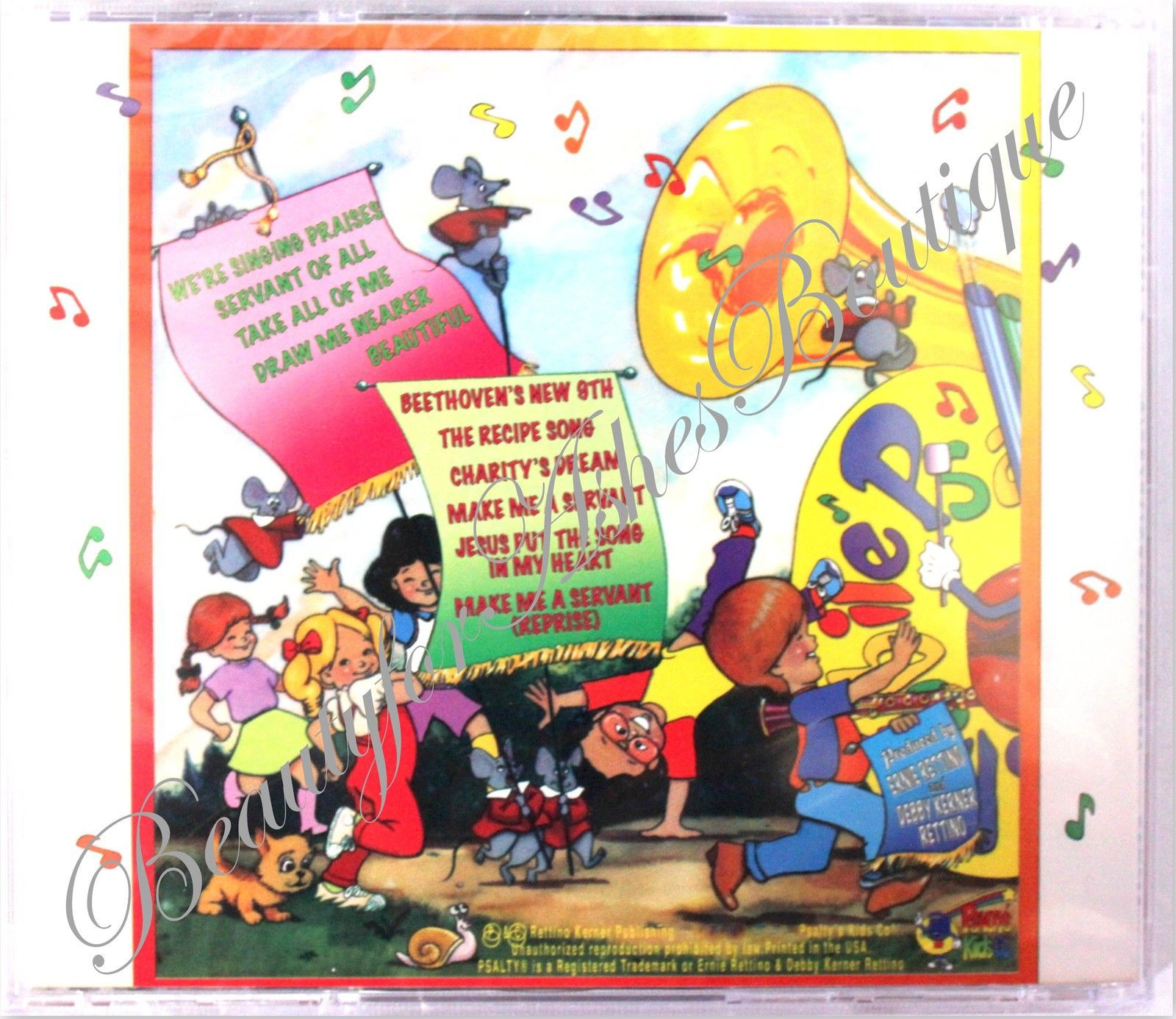 Psalty's Kids Praise An Explosion of Happiness songbook 1981 Maranatha Psalty