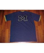 Nike NCAA Big Ten Michigan Wolverines Basketball Navy Blue Team Apparel ... - $64.35