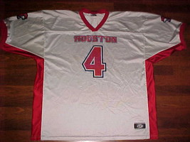 OT Sports NCAA AAC Houston Cougars #4 White Red Replica Football Jersey ... - $59.39