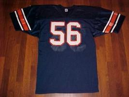 Russell Athletic Vintage NCAA Illinois Illini #56 Blue Orange Football J... - $59.39