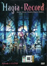 Magia Record:Mahou Shoujo Madoka Magica Gaiden 1-13End Ship From USA