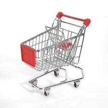 Miniature Shopping Cart | Mini Toy Holder & Organizer | Desk Accessories... - $9.85