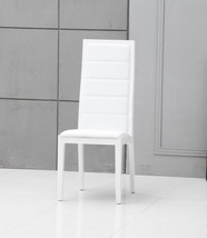 VIG Modrest Donna Contemporary White Leatherette Dining Chairs (Set of 2) - $434.00